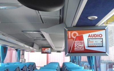 MCS TESIA su autobus della ditta F.lli Pollini