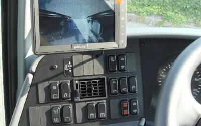 Video system control on SETRA S 418 Bus