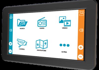 McsTESIA 3.6 – Sistema multimediale di intrattenimento